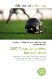 2007 Texas Longhorns football team - Frederic P. Miller