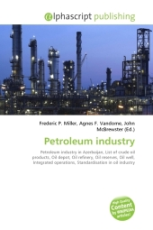 Petroleum industry - Frederic P. Miller