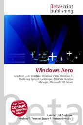 Windows Aero - Lambert M. Surhone