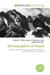 Demographics of Nepal - Frederic P. Miller