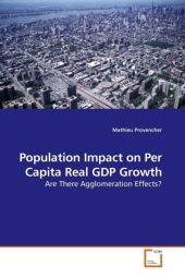 Population Impact on Per Capita Real GDP Growth - Mathieu Provencher