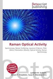 Raman Optical Activity - Lambert M. Surhone