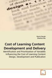 Cost of Learning Content Development and Delivery - Parviz Doulai