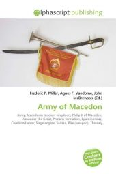Army of Macedon - Frederic P. Miller