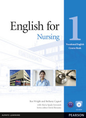 English for Nursing Level 1 Coursebook and CD-ROM Pack - Ros Wright