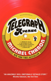 Telegraph Avenue, English edition - Michael Chabon