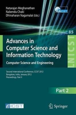 Advances in Computer Science and Information Technology. Computer Science and Engineering: Part II