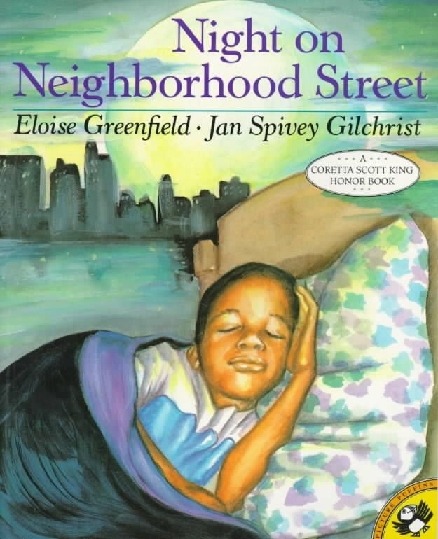 Night on Neighborhood Street - Eloise Greenfield