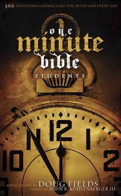 One Minute Bible for Students - Doug Fields