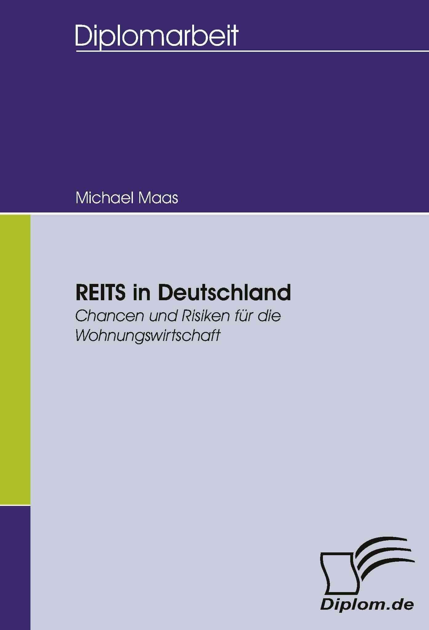 Reits in Deutschland - Michael Maas