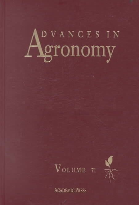 Advances in Agronomy: Vol. 46 - Donald L. Sparks