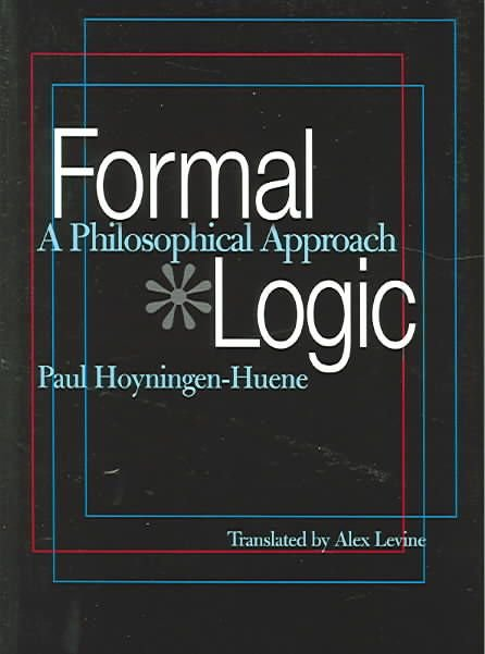 Formal Logic - Paul Hoyningen-Huene