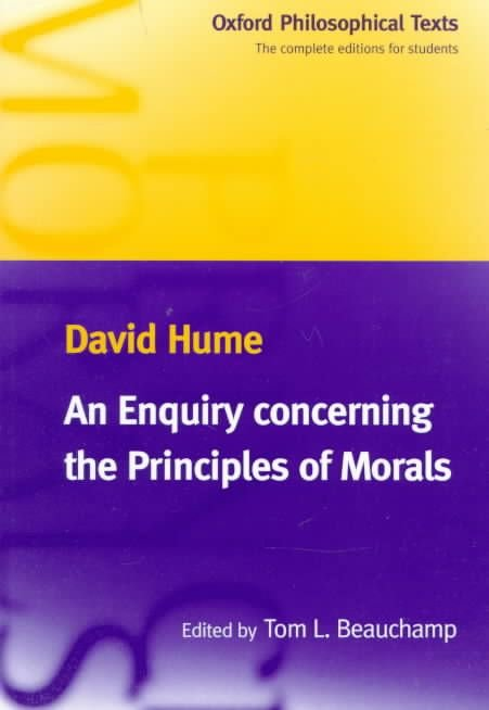 An Enquiry Concerning the Principles of Morals - David Hume