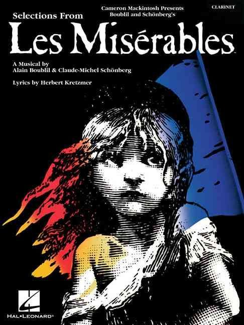 Selections from Les Miserables for Clarinet