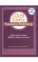 Clear and Simple Thesaurus Dictionary - Harriet Wittels; Joan Greisman