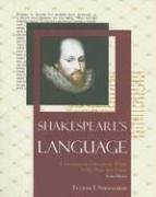Shakespeare's Language: A Glossary of Unfamiliar Words in His Plays and Poems (Facts on File Library of World Literature) - Eugene F. Shewmaker