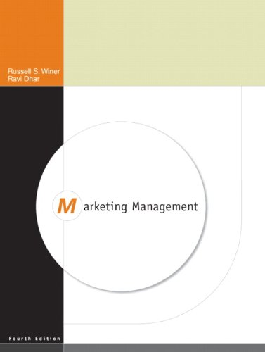 Marketing Management (4th Edition) - Russ Winer; Ravi Dhar