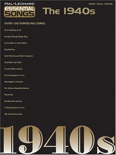 Essential Songs - The 1940s - Hal Leonard Corp.