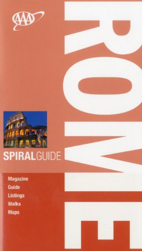AAA Spiral Rome (AAA Spiral Guides: Rome) - Tim Jepson