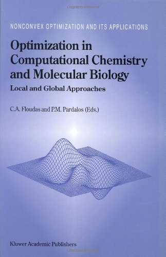 Optimization in Computational Chemistry and Molecular Biology: Local and Global Approaches (Nonconvex Optimization and Its Applications) - Christodoulos A. Floudas; Panos M. Pardalos