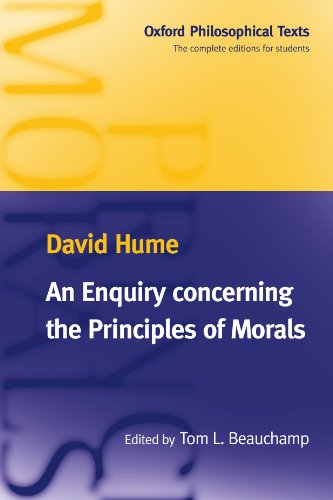 An Enquiry concerning the Principles of Morals (Oxford Philosophical Texts) - David Hume