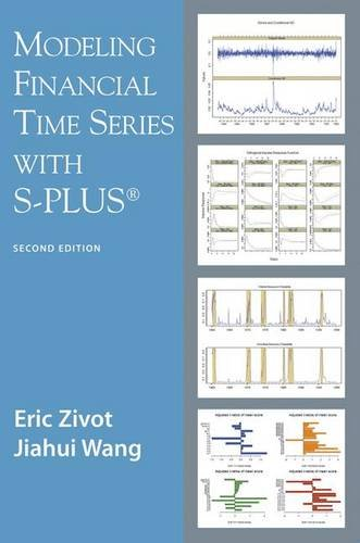Modeling Financial Time Series with S-PLUSr - Eric Zivot; Jiahui Wang