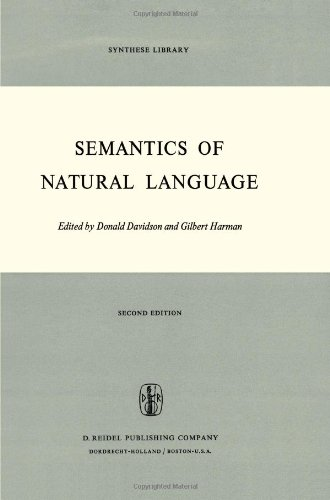 Semantics of Natural Language (Synthese Library) - David Davidson; Gilbert Harman