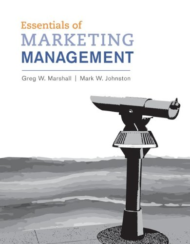 Essentials of Marketing Management - Greg Marshall; Mark Johnston