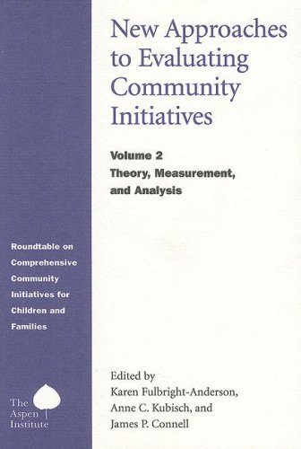 New Approaches to Evaluating Community Initiatives, Vol. 2:  Theory, Measurement, - Editors
