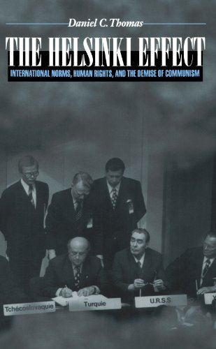The Helsinki Effect: International Norms, Human Rights, and the Demise of Communism. - Daniel C. Thomas