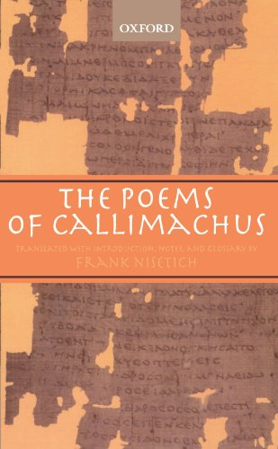 The Poems of Callimachus - Callimachus
