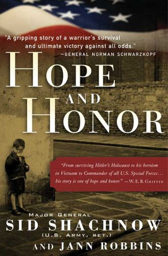 Hope and Honor - Sidney Shachnow; Jann Robbins