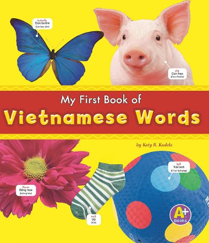 My First Book of Vietnamese Words (Bilingual Picture Dictionaries) (Multilingual Edition) - Katy R. Kudela