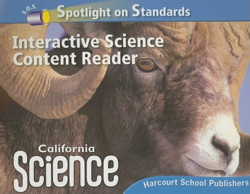 Harcourt School Publishers Science California: Interactive Science Cnt Reader Reader Student Edition Science 08 Grade 5 - HARCOURT SCHOOL PUBLISHERS