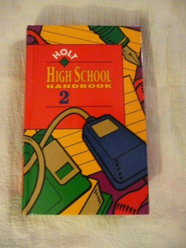 Holt High School Handbook 2 - RINEHART AND WINSTON HOLT