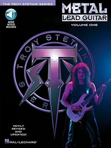 Metal Lead Guitar/Book and Cd (Vol. 1) - Troy Stetina