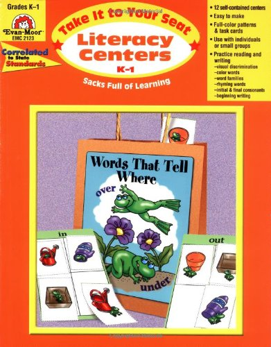 Take It to Your Seat Literacy Centers, Grades K-1 - Evan Moor