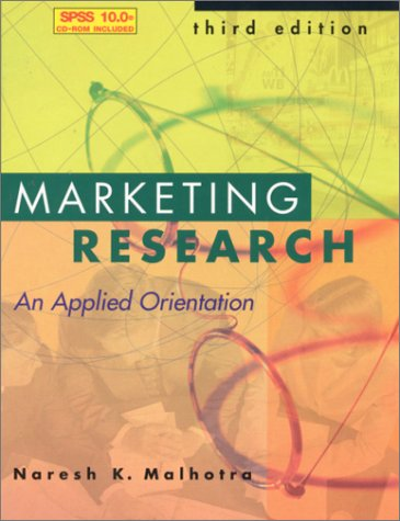 Marketing Research and SPSS 10.0 (3rd Edition) - Naresh Malhotra