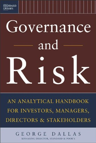 Governance and Risk - George Dallas