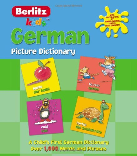 German Picture Dictionary (Kids Picture Dictionary) - Berlitz