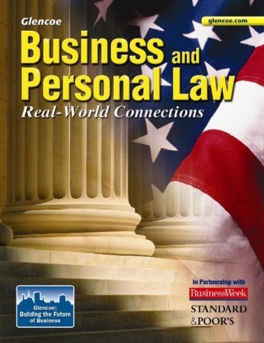 Business and Personal Law, Student Edition (BROWN: UNDER BUS & PERS LAW) - Glencoe McGraw-Hill