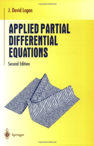 Applied Partial Differential Equations (Undergraduate Texts in Mathematics) - J David Logan