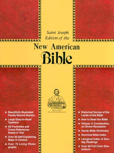 Saint Joseph Edition of the New American Bible - Catholic Book Publishing Co