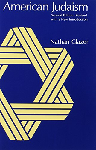 American Judaism, 2nd Revised Edition - Nathan Glazer