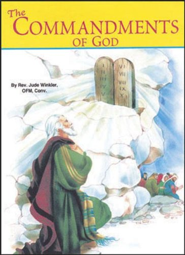 The Commandments of God (St. Joseph Picture Books)Pack of 10 - Thomas Aquinas; Jude Winkler