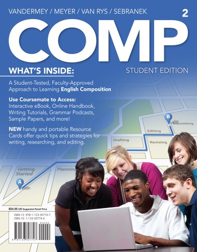 COMP (with English CourseMate with eBook Printed Access Card) - Randall VanderMey; Verne Meyer; John Van Rys; Patrick Sebranek