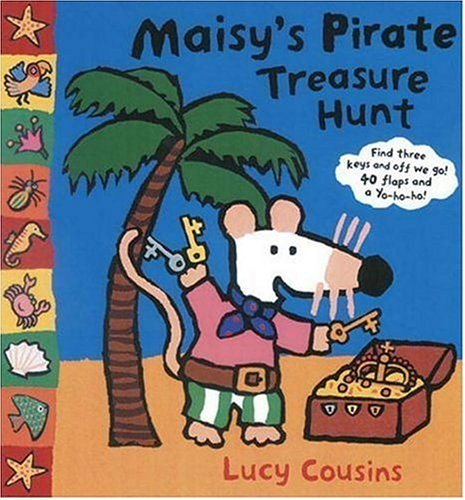 Maisy's Pirate Treasure Hunt - Lucy Cousins