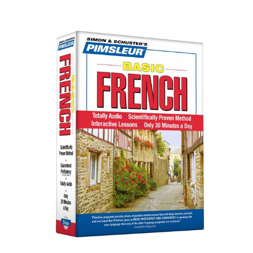 Pimsleur French Basic Course - Level 1 Lessons 1-10 CD: Learn to Speak and Understand French with Pimsleur Language Programs - Pimsleur