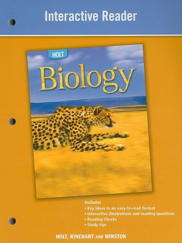 Holt Biology: Interactive Reader - RINEHART AND WINSTON HOLT
