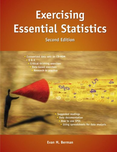 Exercising Essential Statistics, 2nd Edition (Berman Essential Statistics) - Berman E